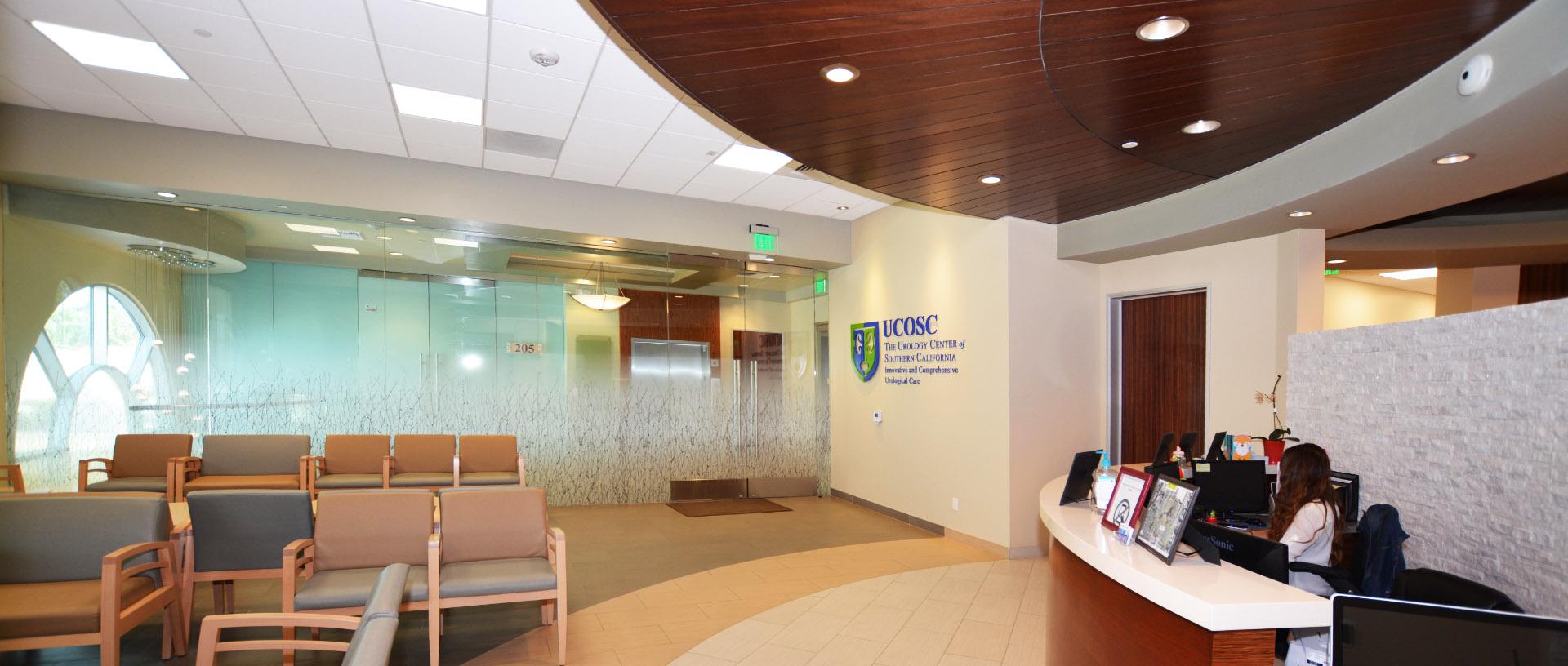 Urology Center of Southern California, Urological Services